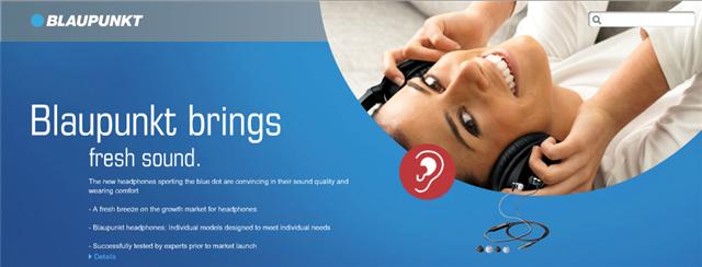 Blaupunkt Website