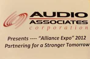 Alliance Expo 2012 Sign