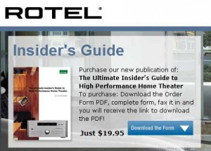 Photo of Rotel Website Promo of Book