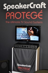 Photo of the SpeakerCraft Protege at the CEA Line Show