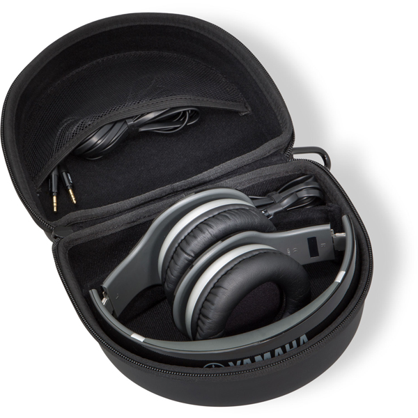 Photo showing PRO500 headphones folded in case