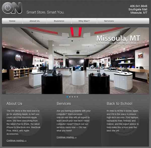 ON Store Website