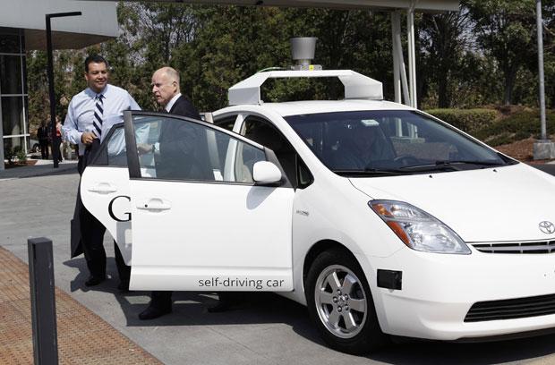 Photo of Google's Autonomous (Driverless) Car
