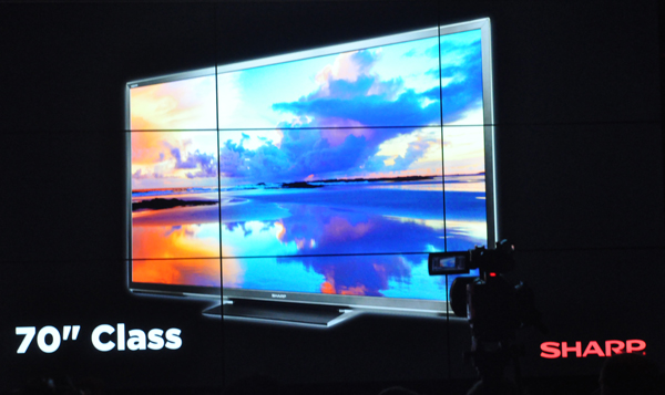 Photo of Sharp 70-inch flat-panel TV