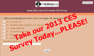 Graphic image of strata-GEE.com's CES Survey