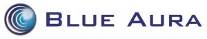 Logo for Blue Aura wireless speakers