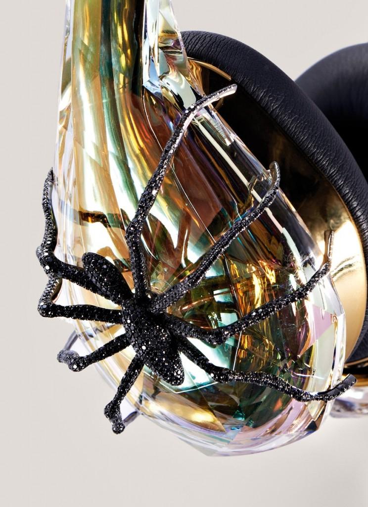 Close-up photo of Monster Diamond Tears Sally Sohn Headphones