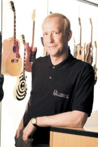 Photo of Gibson CEO Henry Juszkiewicz