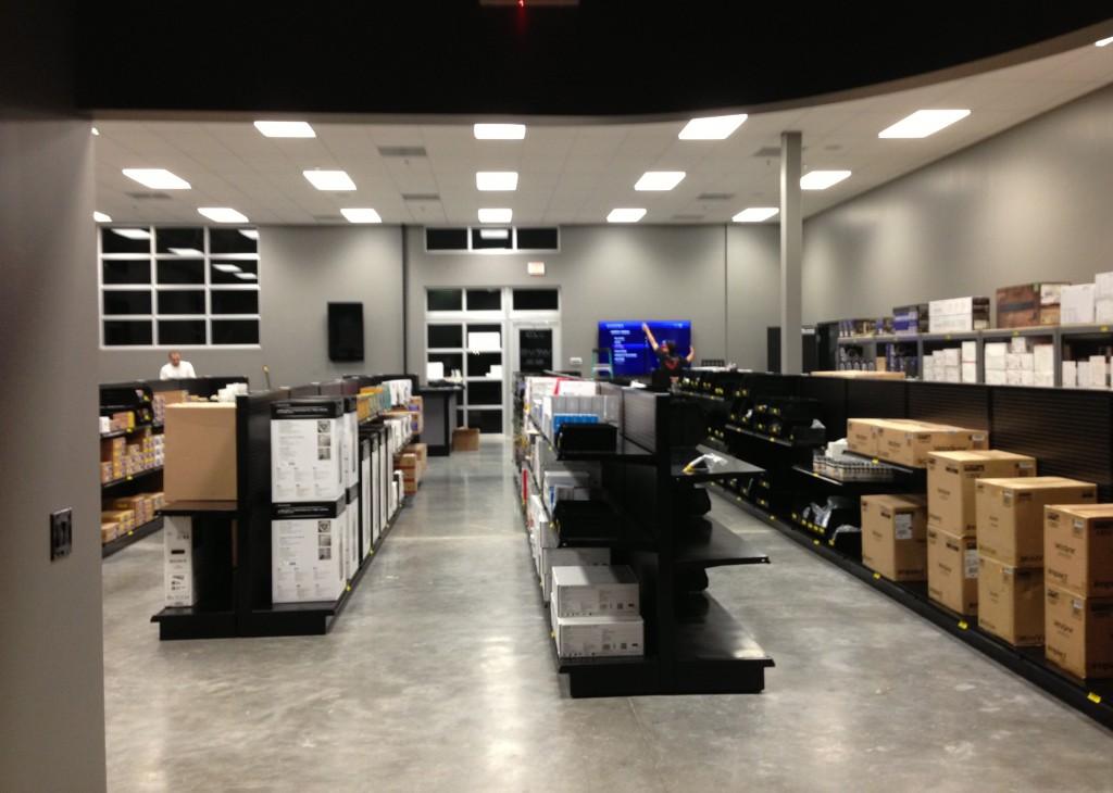 Photo of WAVE warehouse