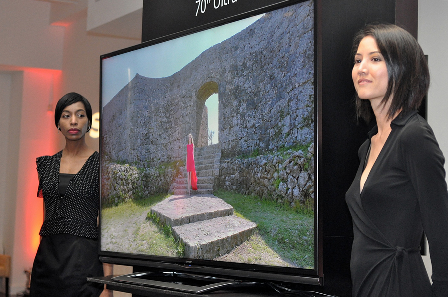Photo of Sharp's 70-inch Ultra HD LED TV