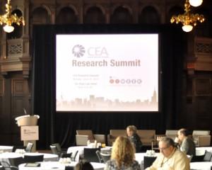 Photo of Research Summit start