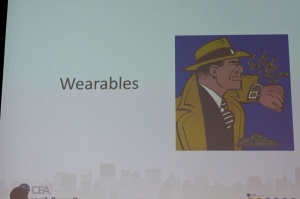Graphic for wearables section