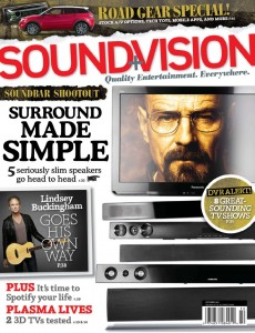 Photo of Sound & Vision Cover