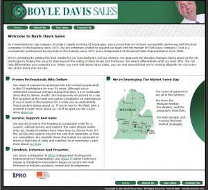 BoyleDavisSalesWebsite
