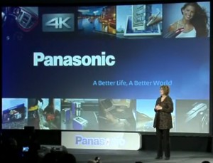 Photo from Panasonic Press Conference