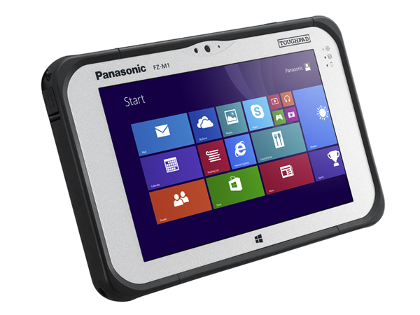Photo of Panasonic's new FZM1 ToughPad