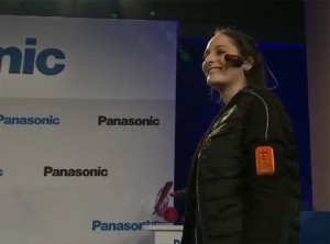 Panasonic wearable camcorder