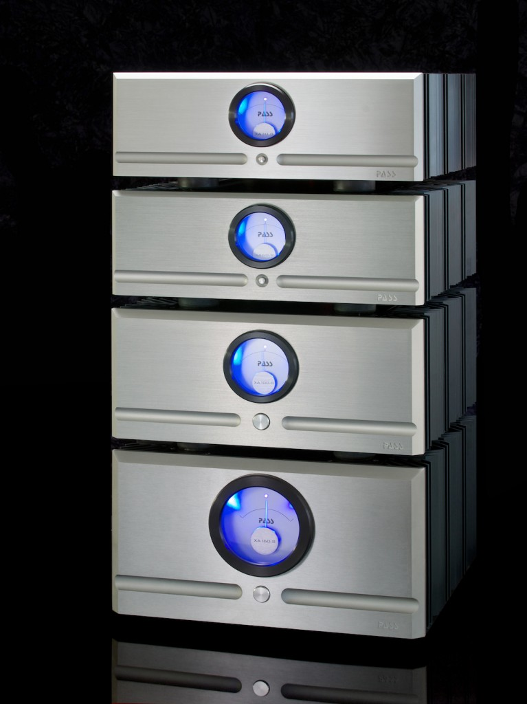 Photo of new Pass Labs Point 8 amps
