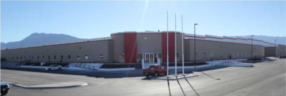 Photo of Nortek's new Mexico factory.