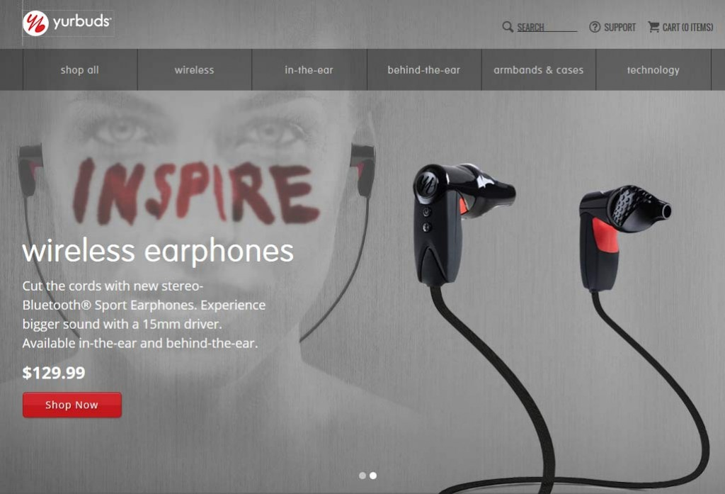 Image from Yurbuds website