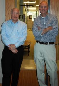Photo of Thiel executives