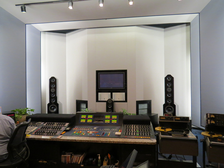 Main photo of Bob Ludwig's studio