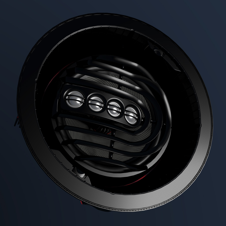 Photo of AIM Series 2 speakers from another angle