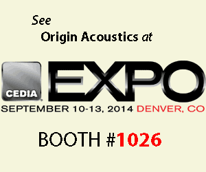 Origin Acoustics at CEDIA Expo