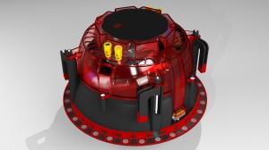 Engineering drawing of new AIM Series 2 speakers