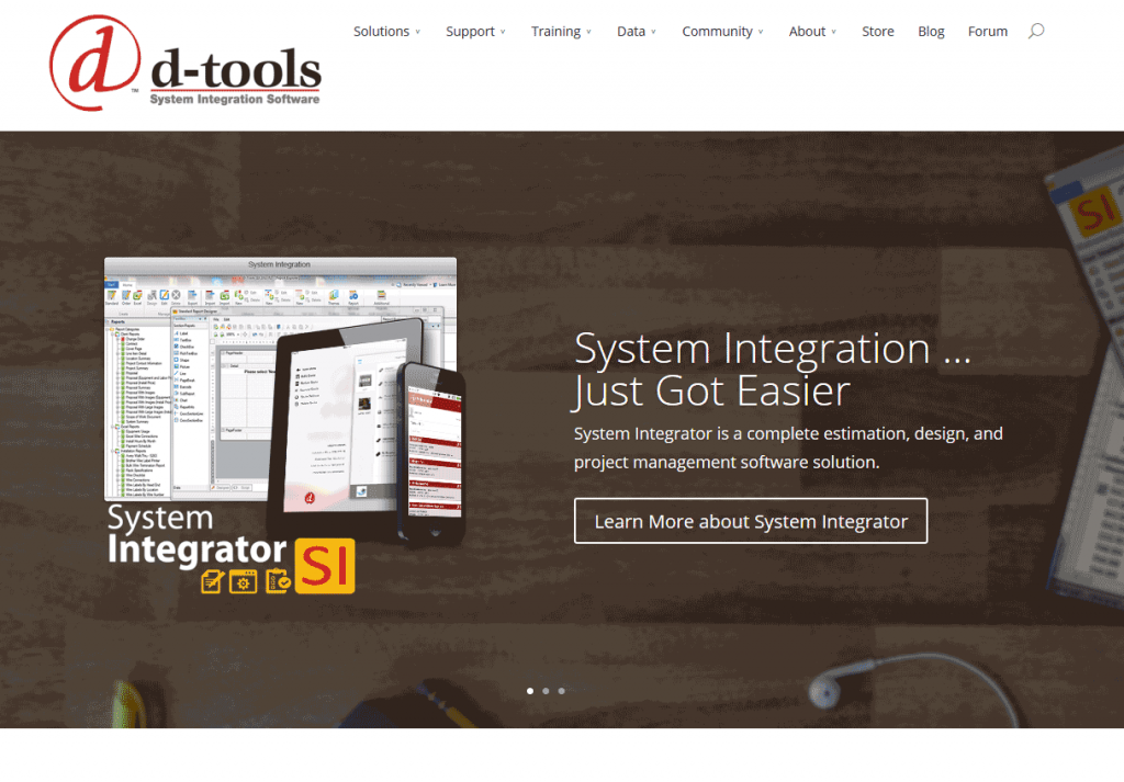 D-Tools Website