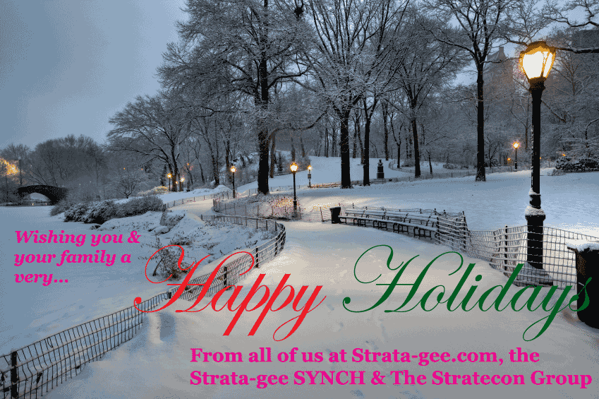 Happy Holidays from Strata-gee.com
