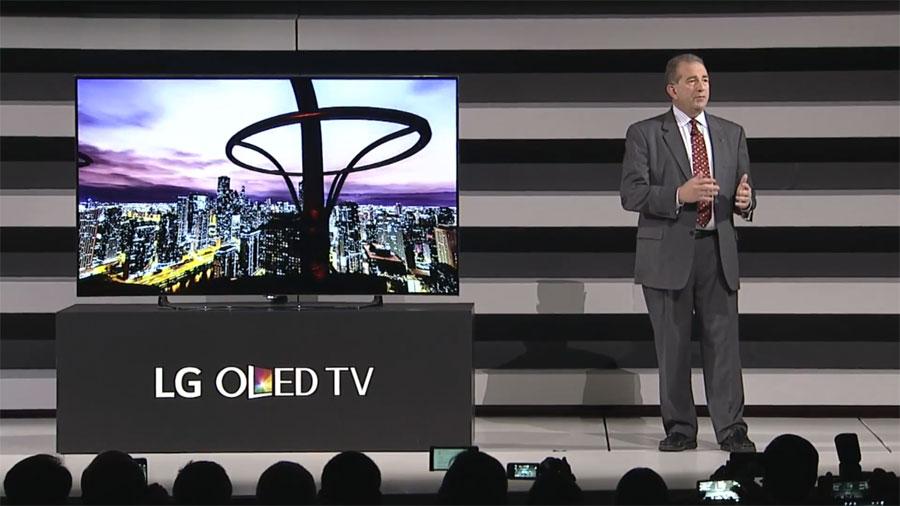 LG OLED at CES 2015