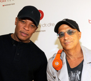 Photo of Dr. Dre and Jimmy Iovine