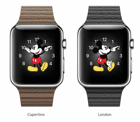 Apple's Mickey Mouse Watch