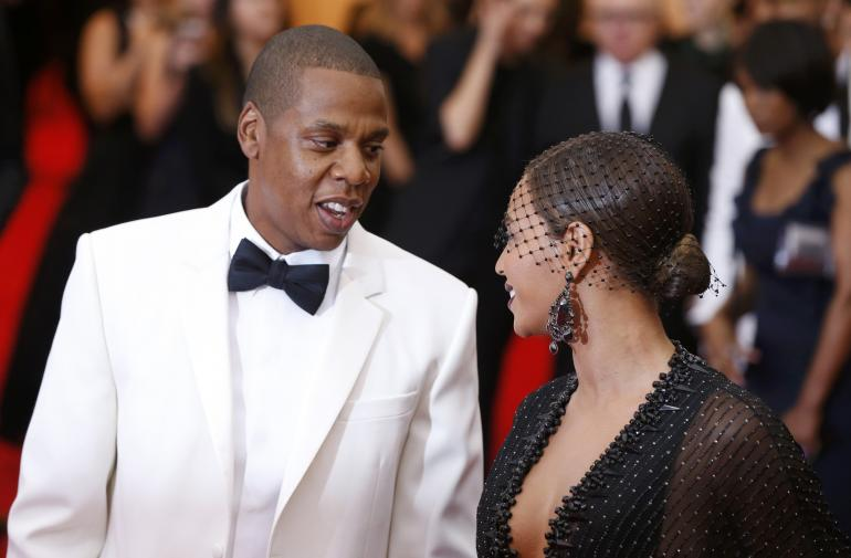 Photo of Jay Z and Beyonce