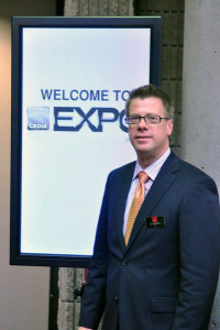 Photo of Utz Baldwin at 2011 CEDIA Expo
