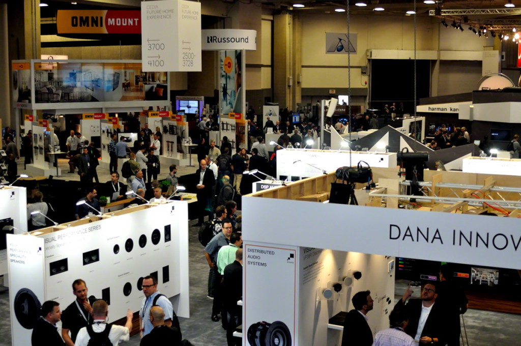 CEDIA 2015 Day 1 Crowd