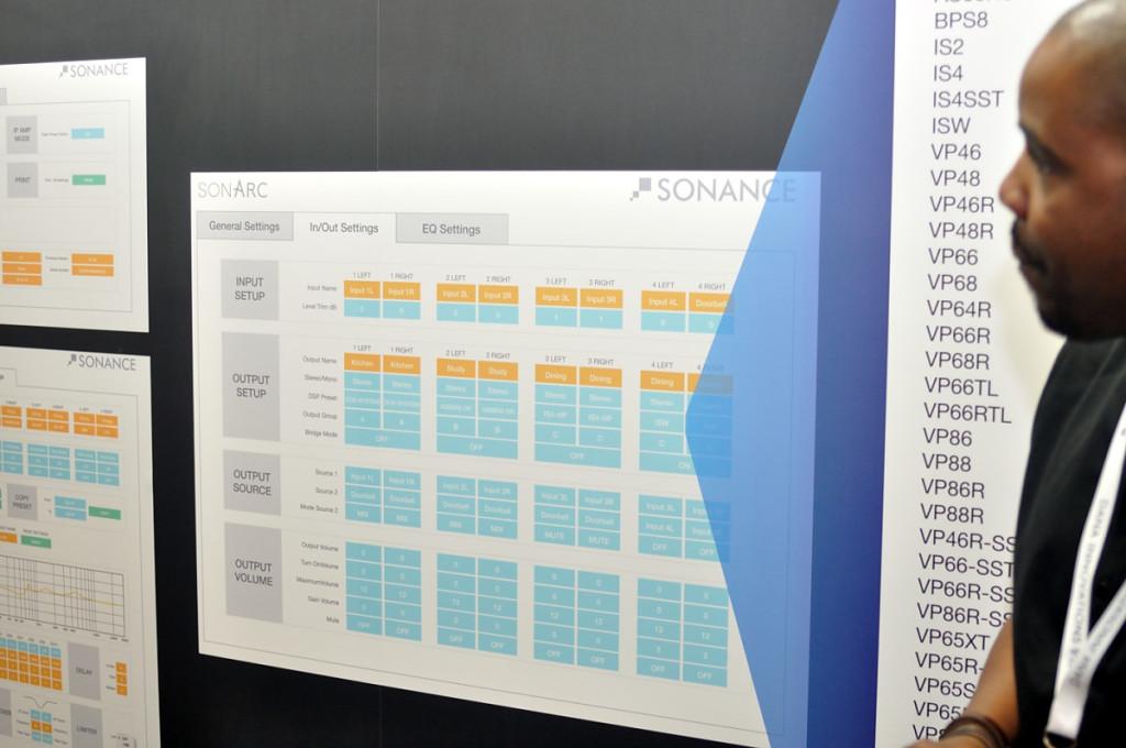 Photo of SonArc display