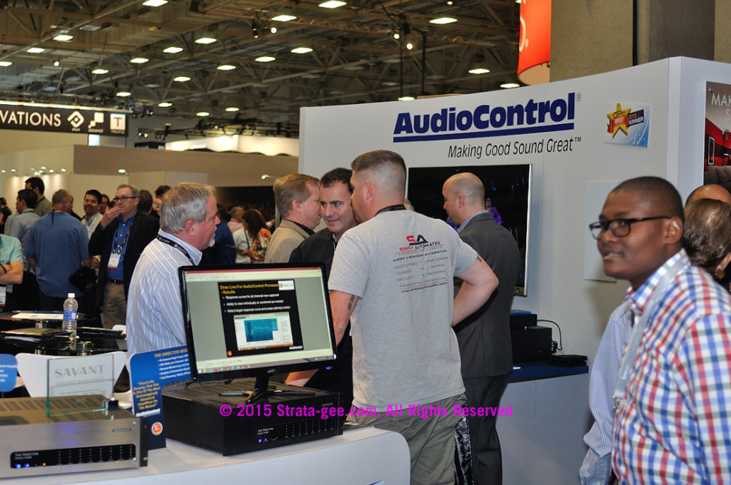 AudioControl booth at 2015 Expo