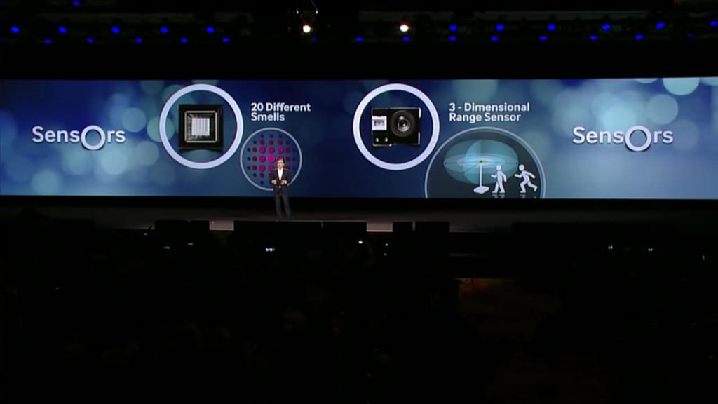 Samsung CES presentation