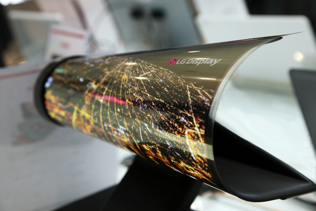 LGs rollable OLED panel