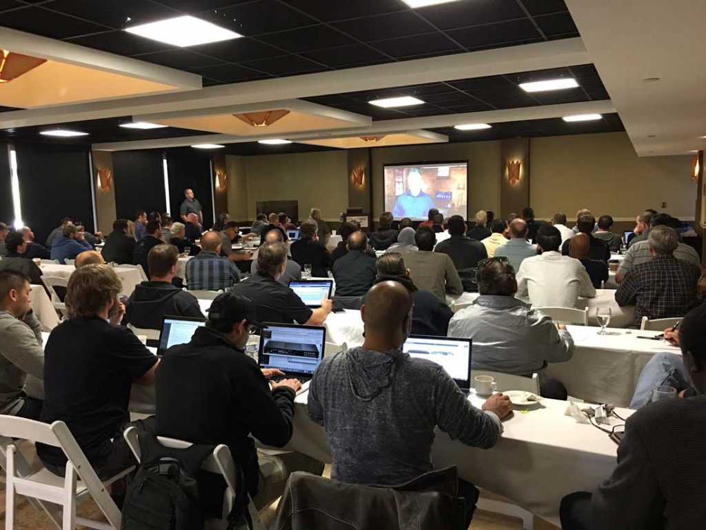 Photo of LA launch event