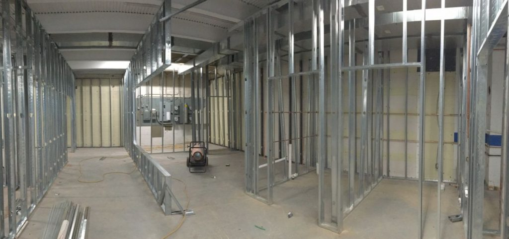 Gramophone under construction in Gaithersburg