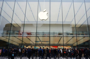 Photo of Apple store in China