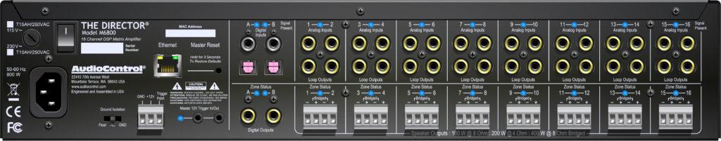 Photo AudioControl N6800 rear