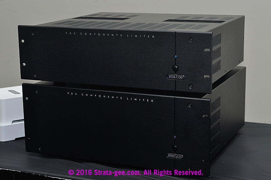 Photo of amplifiers