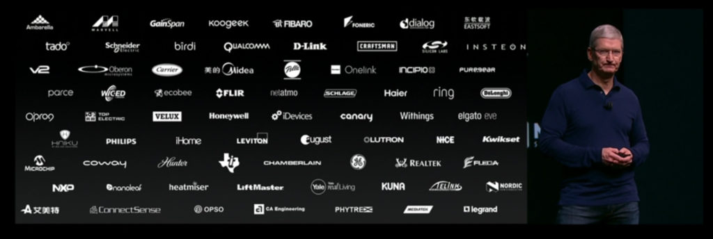 companies supporting HomeKit