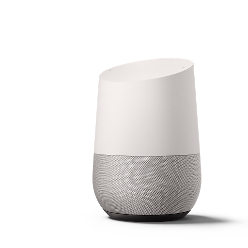Photo of Google Home device