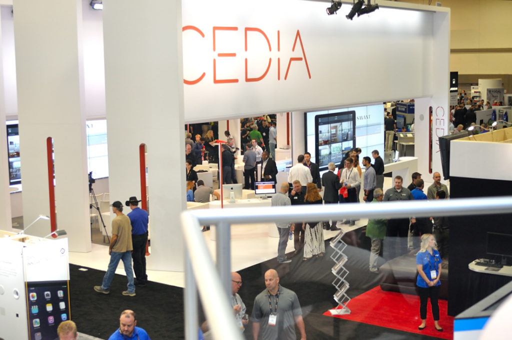 CEDIA sells off show