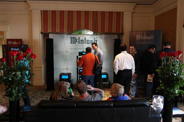 Photo of McIntosh booth